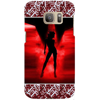 ifasho Girl dancing Back Case Cover for Samsung Galaxy S7 Edge