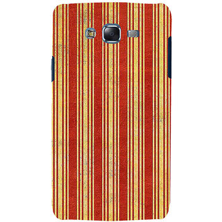 ifasho Design lines pattern Back Case Cover for Samsung Galaxy J5
