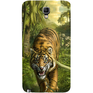 ifasho Angry Tiger  Back Case Cover for Samsung Galaxy Note3 Neo