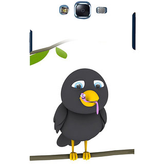 ifasho Bird eating cartoon Back Case Cover for Samsung Galaxy J7