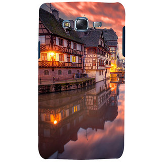 ifasho Venice City Back Case Cover for Samsung Galaxy J7