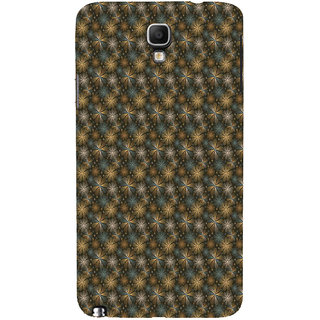 ifasho Animated Pattern design many small flowers  Back Case Cover for Samsung Galaxy Note3 Neo