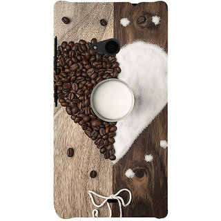 ifasho Coffee beans Back Case Cover for Nokia Lumia 535