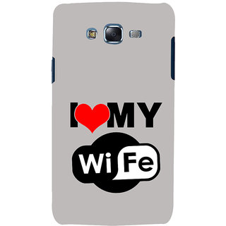 ifasho I love my wife quotes Back Case Cover for Samsung Galaxy J5