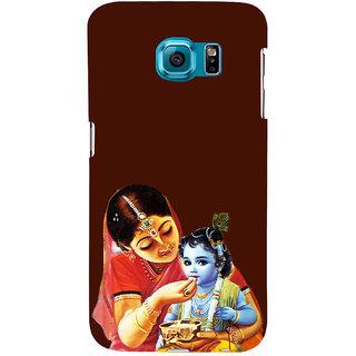 ifasho Yasoda krishna Back Case Cover for Samsung Galaxy S6 Edge Plus
