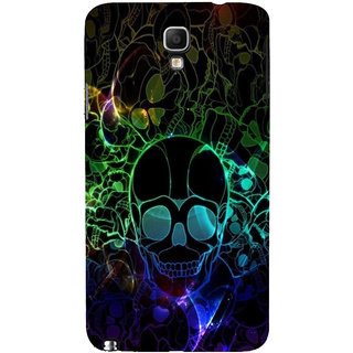 ifasho Modern  Design animated skeleton Back Case Cover for Samsung Galaxy Note3 Neo