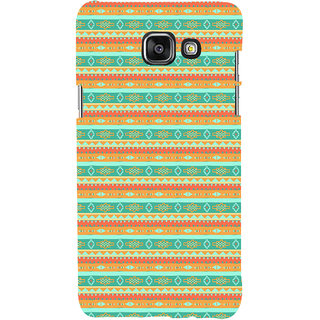 ifasho Animated Pattern colrful 3Daditional design Back Case Cover for Samsung Galaxy A5 A510 (2016 Edition)