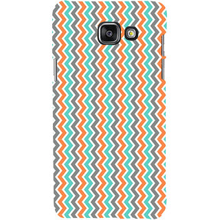 ifasho Animated Pattern of Chevron Arrows  Back Case Cover for Samsung Galaxy A5 A510 (2016 Edition)