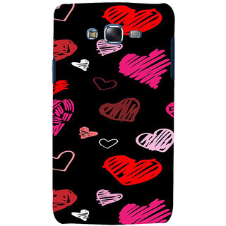 ifasho Animated Pattern With Love Back Case Cover for Samsung Galaxy J5