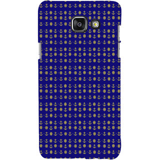 ifasho Modern Art Design Pattern with Lot Of small anchor and disc Back Case Cover for Samsung Galaxy A5 A510 (2016 Edition)