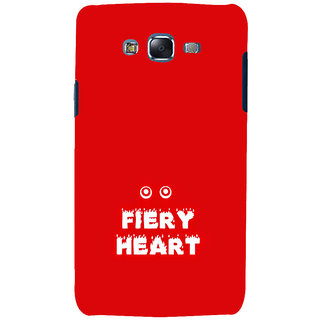 ifasho Fiery Heart modern quotes Back Case Cover for Samsung Galaxy J7