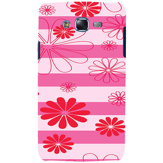 ifasho Modern Art Design animated cloth Pattern of flower Back Case Cover for Samsung Galaxy J7