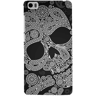 ifasho Modern  Design skeleton in royal Pattern Back Case Cover for Redmi Mi5