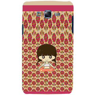 ifasho Cute Girl animated Back Case Cover for Samsung Galaxy J5