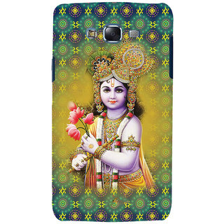 ifasho Lord Krishna in bal avtar Back Case Cover for Samsung Galaxy J5