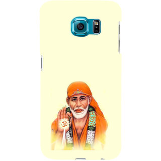 ifasho Shirdi wale Sai Baba Back Case Cover for Samsung Galaxy S6 Edge Plus