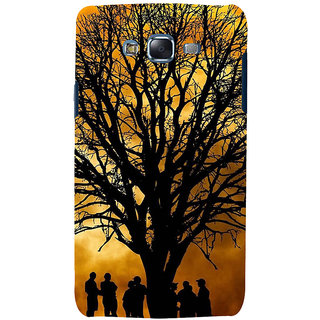 ifasho 3Dee Painting with people  Back Case Cover for Samsung Galaxy J5