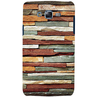 ifasho Rough Stone Graphics Back Case Cover for Samsung Galaxy J7