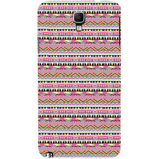 ifasho 3Diangular Pattern Back Case Cover for Samsung Galaxy Note3 Neo