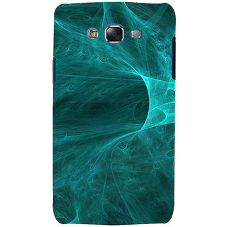 ifasho Design of smoke pattern Back Case Cover for Samsung Galaxy J7