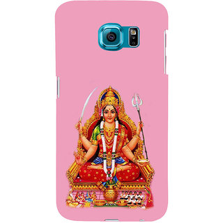 ifasho Santoshi maa Back Case Cover for Samsung Galaxy S6 Edge Plus