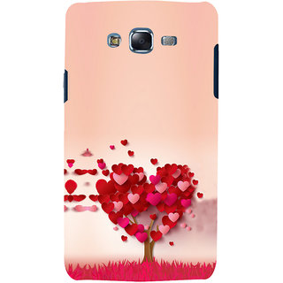 ifasho Animated Pattern With Love and heart and Ishq Back Case Cover for Samsung Galaxy J5