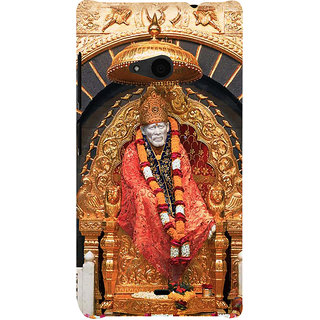 ifasho Shirdi Sai Baba Back Case Cover for Nokia Lumia 535