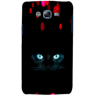 ifasho shining eyes of cat Back Case Cover for Samsung Galaxy J5