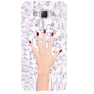ifasho girl finger with nail polish design Back Case Cover for Samsung Galaxy Grand Max