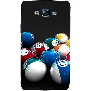 ifasho Design colourful biliards ball pattern Back Case Cover for Samsung Galaxy J7
