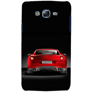 ifasho Red Stylish Car from back side Back Case Cover for Samsung Galaxy J7 (2016)