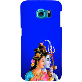 ifasho Siva Parvati Back Case Cover for Samsung Galaxy S6 Edge Plus