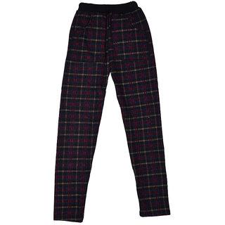 LOL - Land Of Littles Checkered warm leggings in Color Black  For Girls