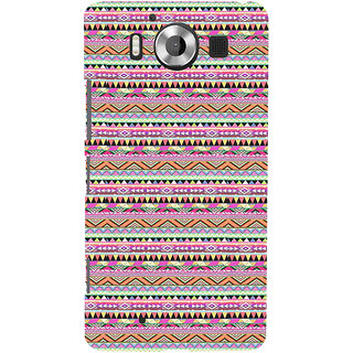 ifasho 3Diangular Pattern Back Case Cover for Nokia Lumia 950