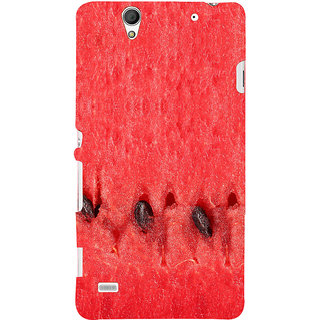ifasho water melon full Colour Pattern Back Case Cover for Sony Xperia C4