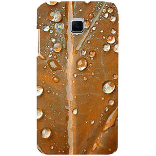 ifasho water Drop on brown leaf Back Case Cover for Samsung Galaxy J3
