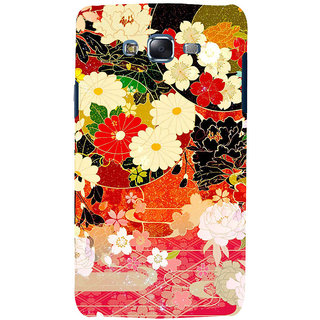 ifasho Animated Pattern flower with leaves Back Case Cover for Samsung Galaxy J7