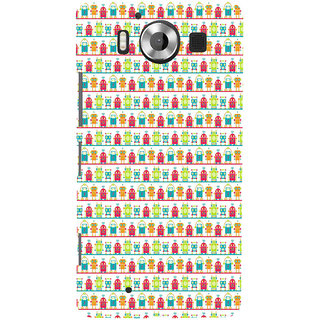 ifasho Modern Art Design Pattern Lot Doll and postbox  Back Case Cover for Nokia Lumia 950