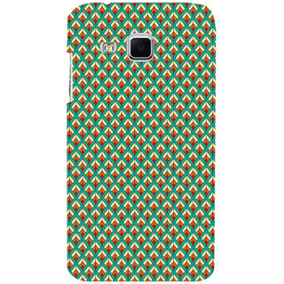 ifasho Animated Pattern of Chevron Arrows royal style Back Case Cover for Samsung Galaxy J3