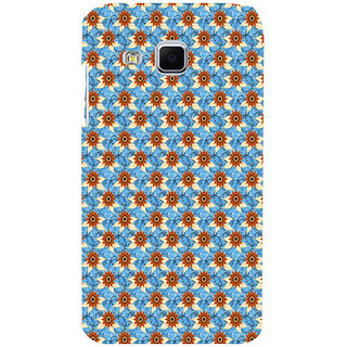 ifasho Modern Art Design animated cloth Pattern of sunflower Back Case Cover for Samsung Galaxy J3