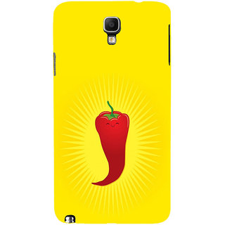 ifasho Red Chillies Back Case Cover for Samsung Galaxy Note3 Neo