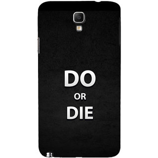 ifasho Do or die Back Case Cover for Samsung Galaxy Note3 Neo