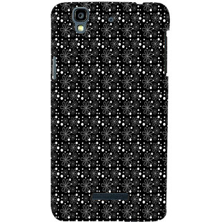 ifasho Animated Pattern Littel Flowers Back Case Cover for YU Yurekha