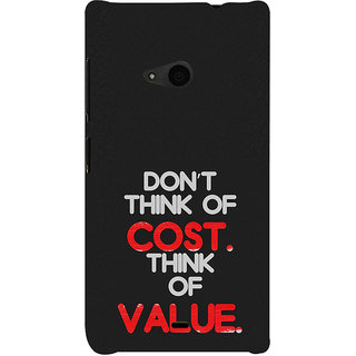 ifasho life Quotes Back Case Cover for Nokia Lumia 535