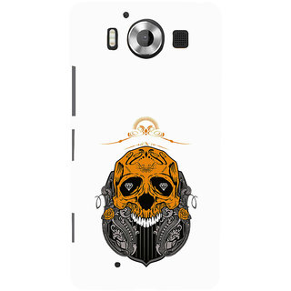 ifasho Modern  Design animated skeleton Back Case Cover for Nokia Lumia 950