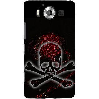 ifasho Modern  Design animated skeleton Back Case Cover for Nokia Lumia 950