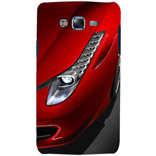 ifasho Red Royal colour Car Back Case Cover for Samsung Galaxy J7 (2016)