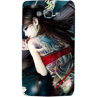 ifasho tatoo girl Back Case Cover for Samsung Galaxy J7 (2016)