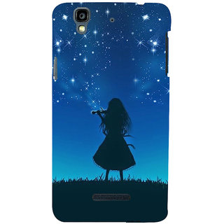 ifasho Girl playing violin Back Case Cover for YU Yurekha
