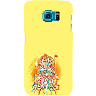 ifasho Lord Surya Back Case Cover for Samsung Galaxy S6 Edge Plus